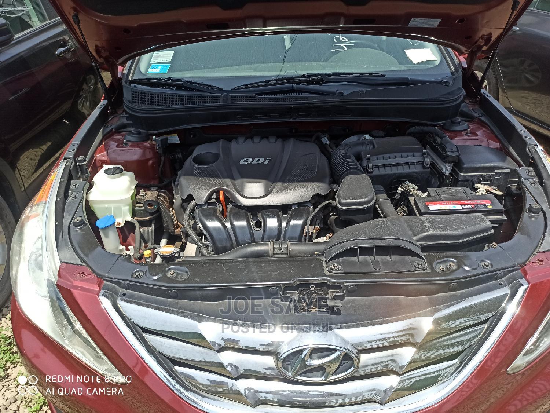 Archive: Hyundai Sonata 2011 Red