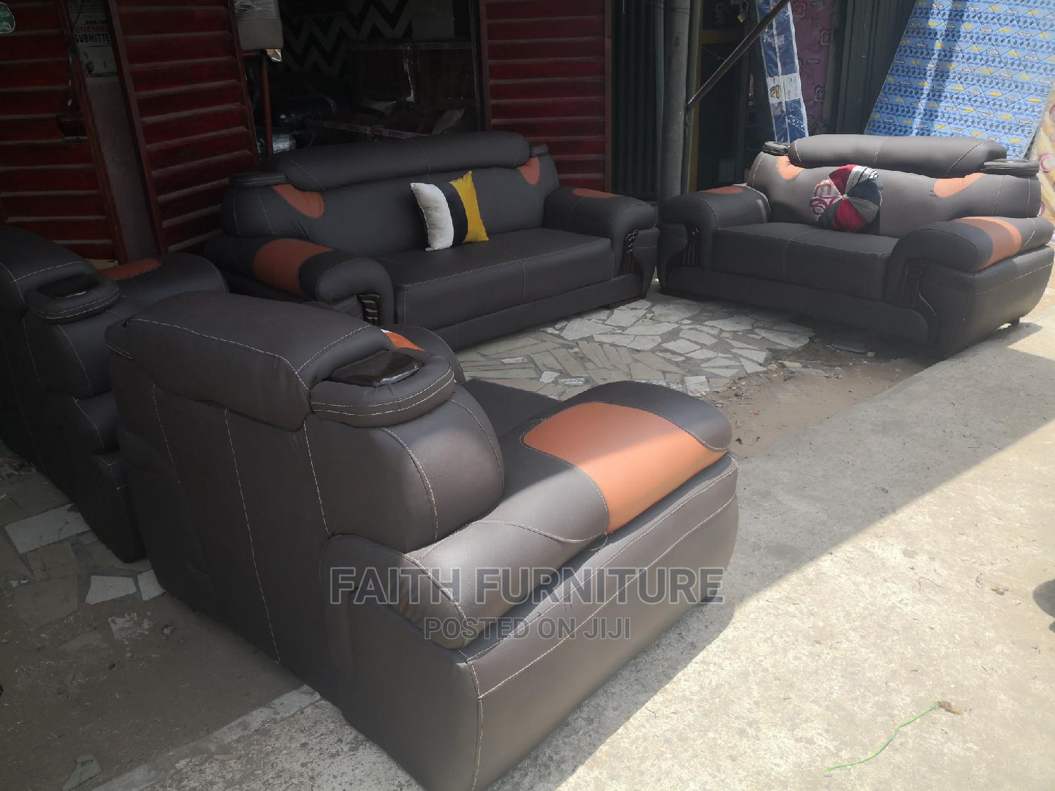 Complete Set of Leather Chair