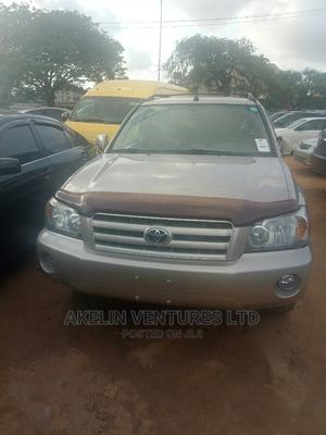 Toyota Highlander 2007 Limited V6 4x4 Gold | Cars for sale in Lagos State, Amuwo-Odofin