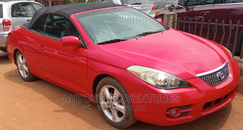 Toyota Solara 2008 Red