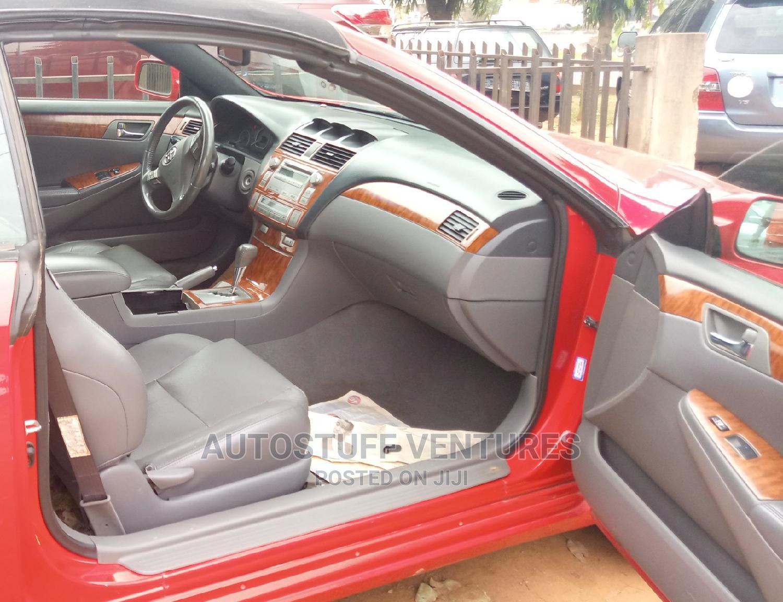 Toyota Solara 2008 Red | Cars for sale in Ikorodu, Lagos State, Nigeria