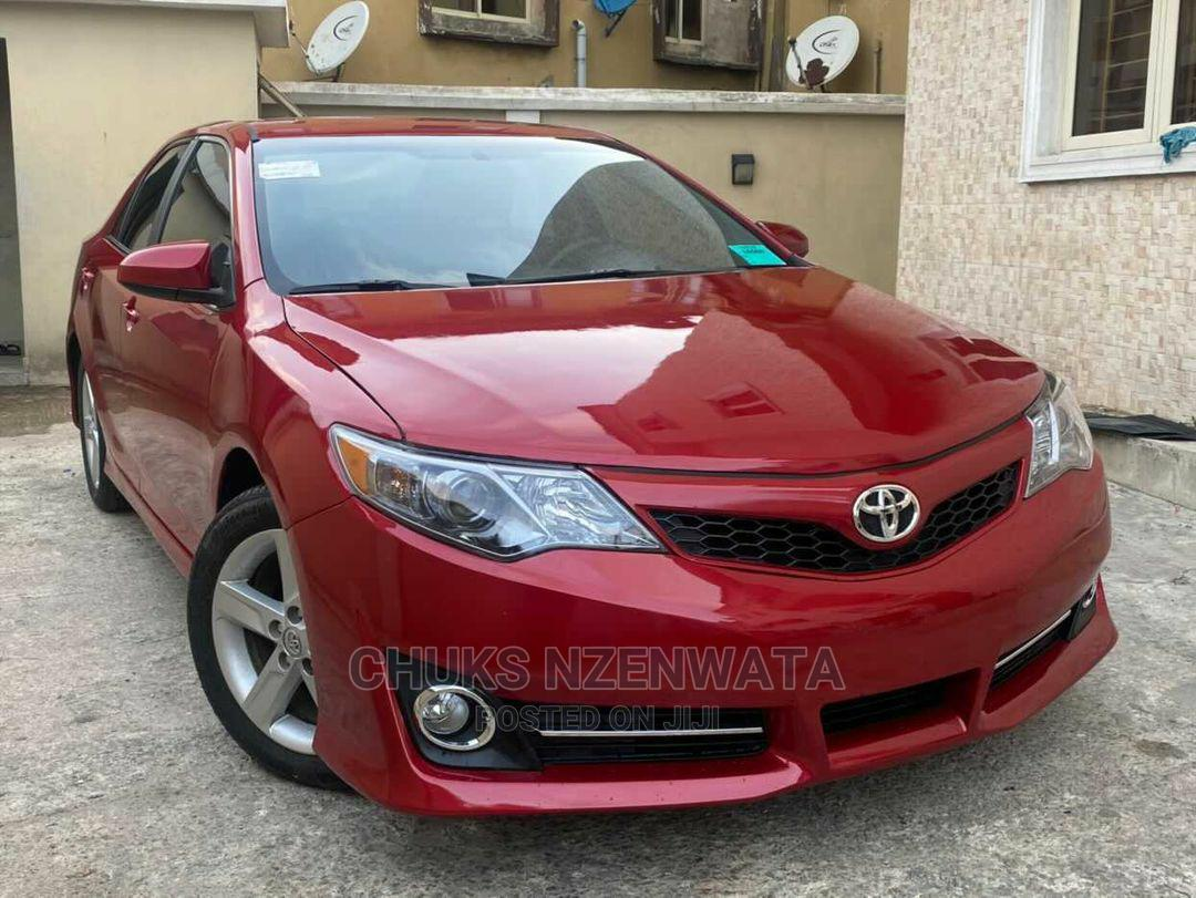 Archive: Toyota Camry 2014 Red