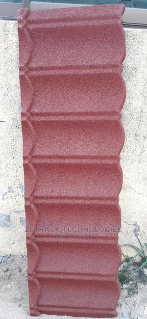 Original Newzealand Stone Coated Roofing Sheets(Red Bond | Building Materials for sale in Lagos State, Ikorodu