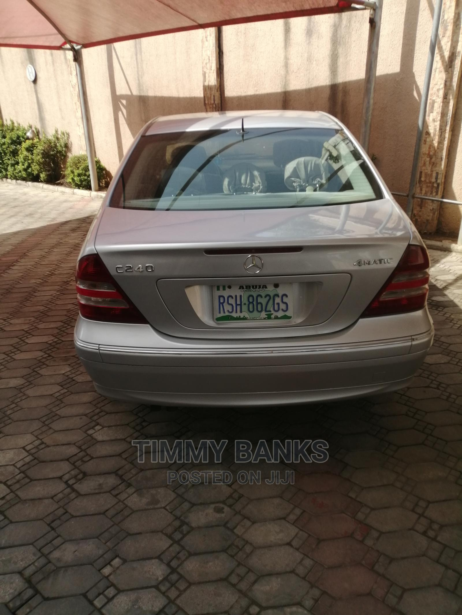 Mercedes-Benz C240 2006 Silver | Cars for sale in Wuse 2, Abuja (FCT) State, Nigeria