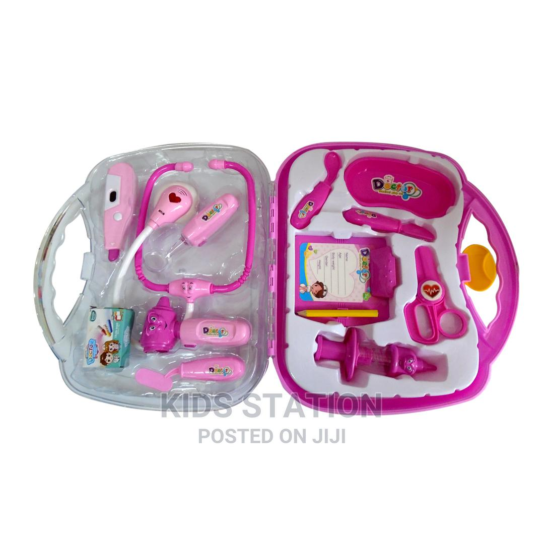 Pink Doctor 2-In-1 Pretend Play Set | Toys for sale in Yaba, Lagos State, Nigeria