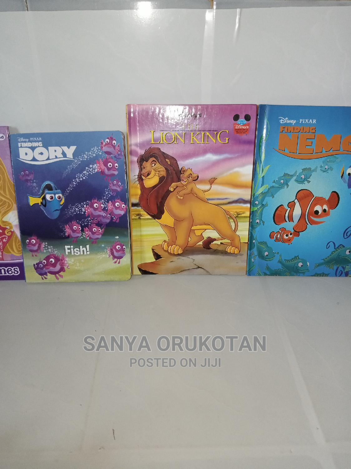Disney Children Story and Rhymes Books