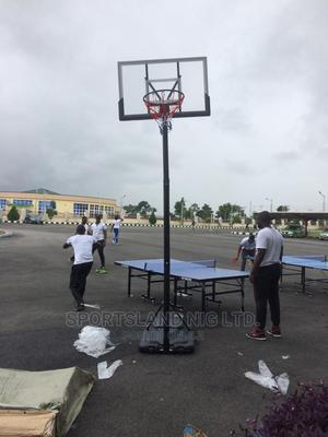 Basketball Stand With Original Basketball | Sports Equipment for sale in Abuja (FCT) State, Katampe