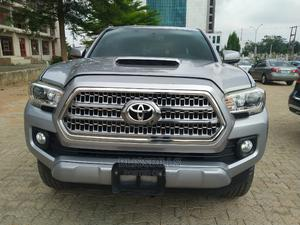 Toyota Tacoma 2016 4dr Double Cab Silver | Cars for sale in Abuja (FCT) State, Central Business District