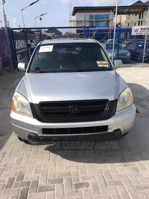 Honda Pilot 2005 EX-L 4x4 (3.5L 6cyl 5A) Silver | Cars for sale in Lagos State, Ajah