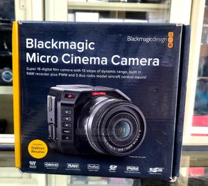 Blackmagic Micro Cinema Camera With Small Rig Cage   Photo & Video Cameras for sale in Lagos State, Ikeja