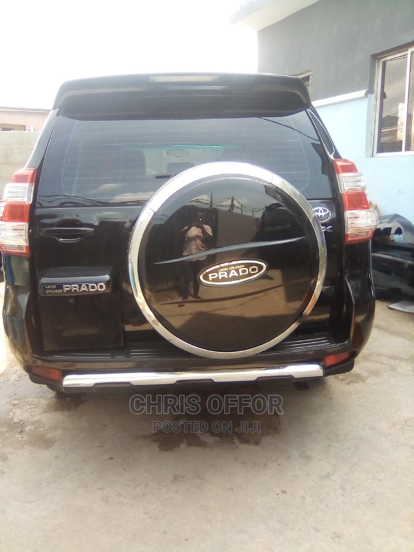 Toyota Land Cruiser Prado 2015 VX Black | Cars for sale in Yaba, Lagos State, Nigeria