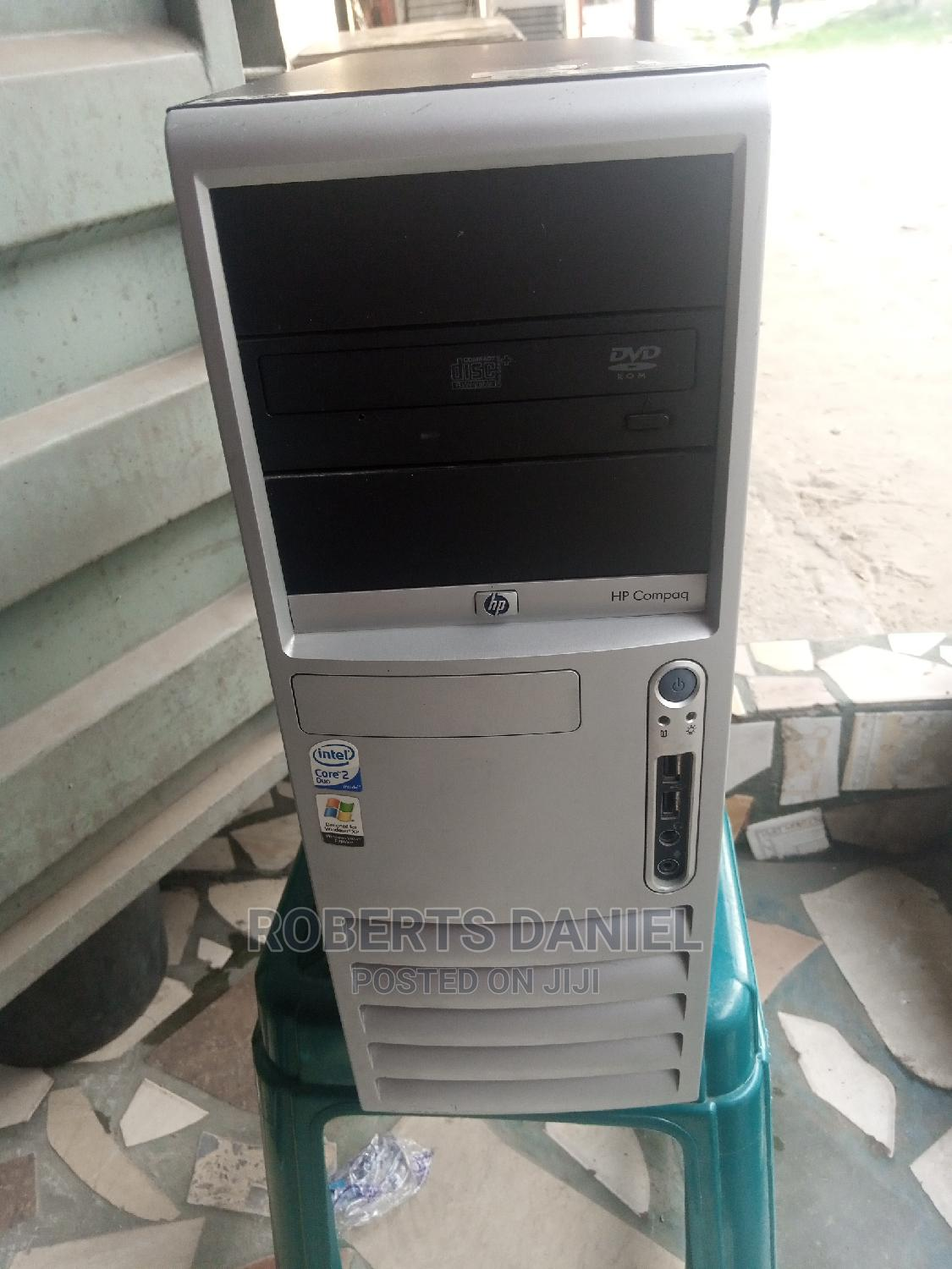 Desktop Computer HP 1GB Intel Pentium HDD 128GB | Laptops & Computers for sale in Uvwie, Delta State, Nigeria