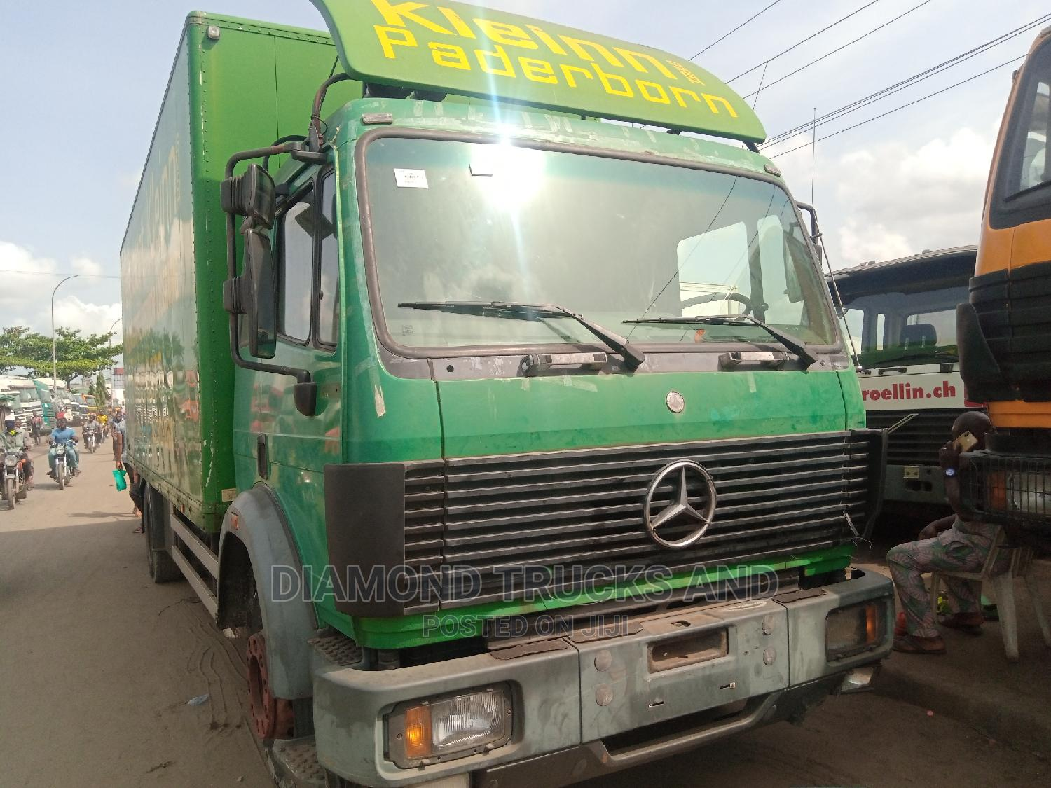 Mercedes Benz 1824 Container Body Truck Green Colour | Trucks & Trailers for sale in Apapa, Lagos State, Nigeria