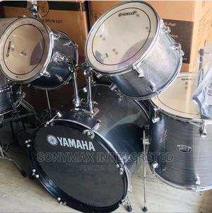 Yamaha Drum Set 5 Set Laser Blue | Audio & Music Equipment for sale in Lagos State, Ojo