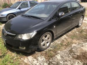 Honda Civic 2005 Black   Cars for sale in Lagos State, Yaba