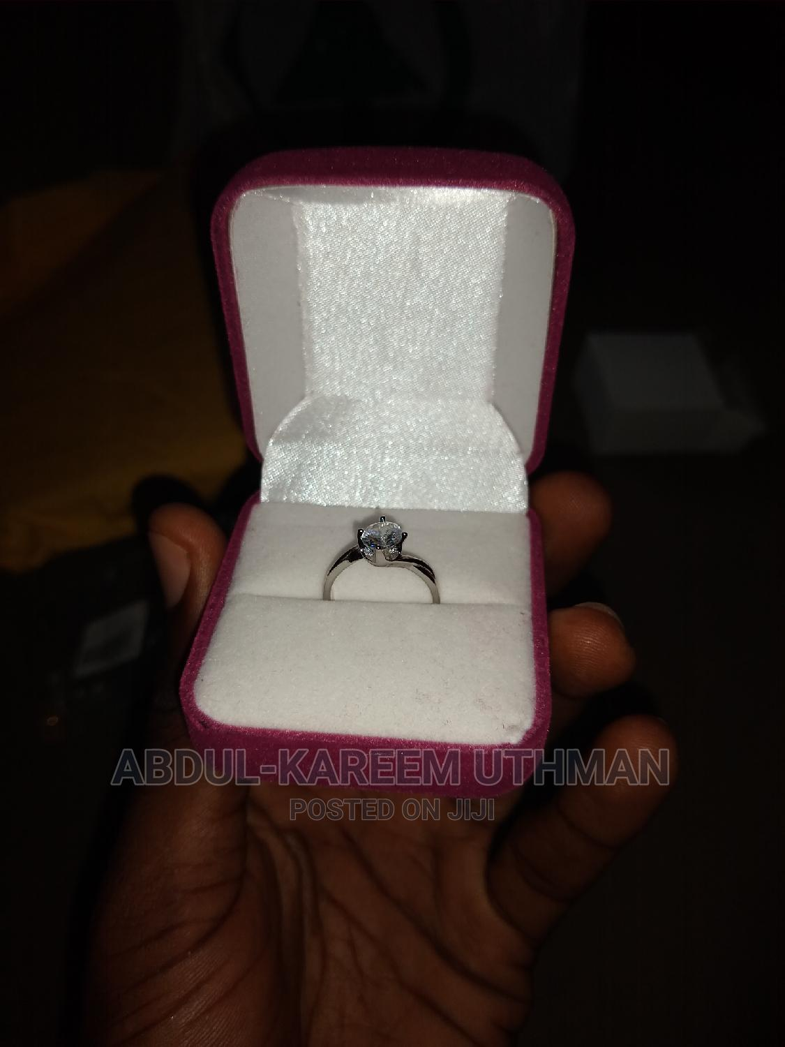 Adjustable Silver Engagement Ring | Jewelry for sale in Yaba, Lagos State, Nigeria
