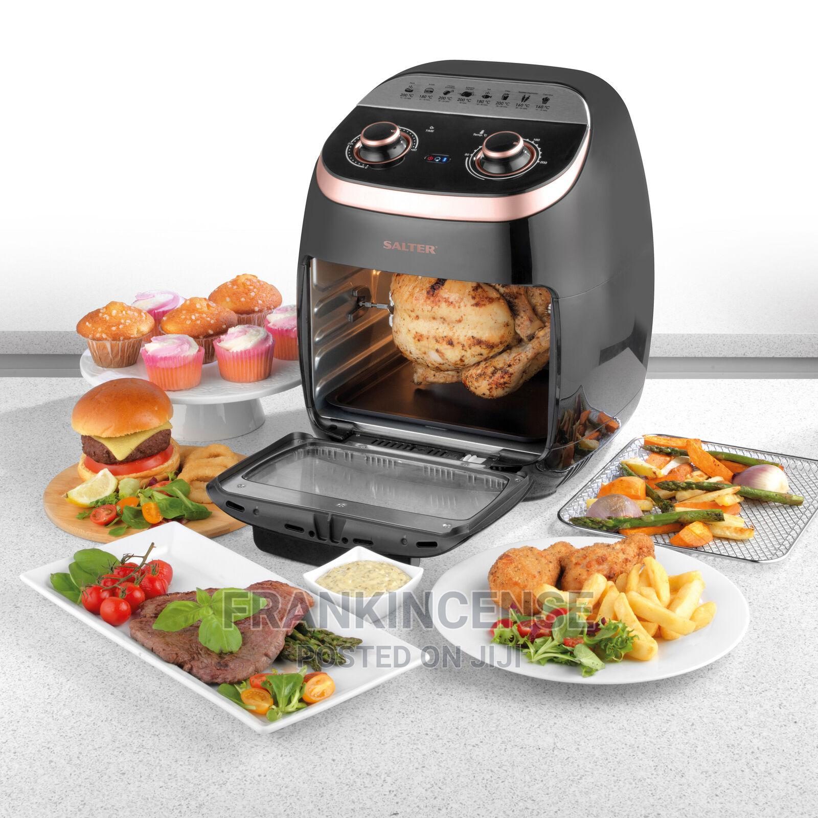 Salter 11 Litre 2000W Manual 6 in 1 Air Fryer Oven
