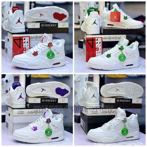 Nike Air 4 Retro Metallic Red Sneakers   Shoes for sale in Lagos State, Lagos Island (Eko)