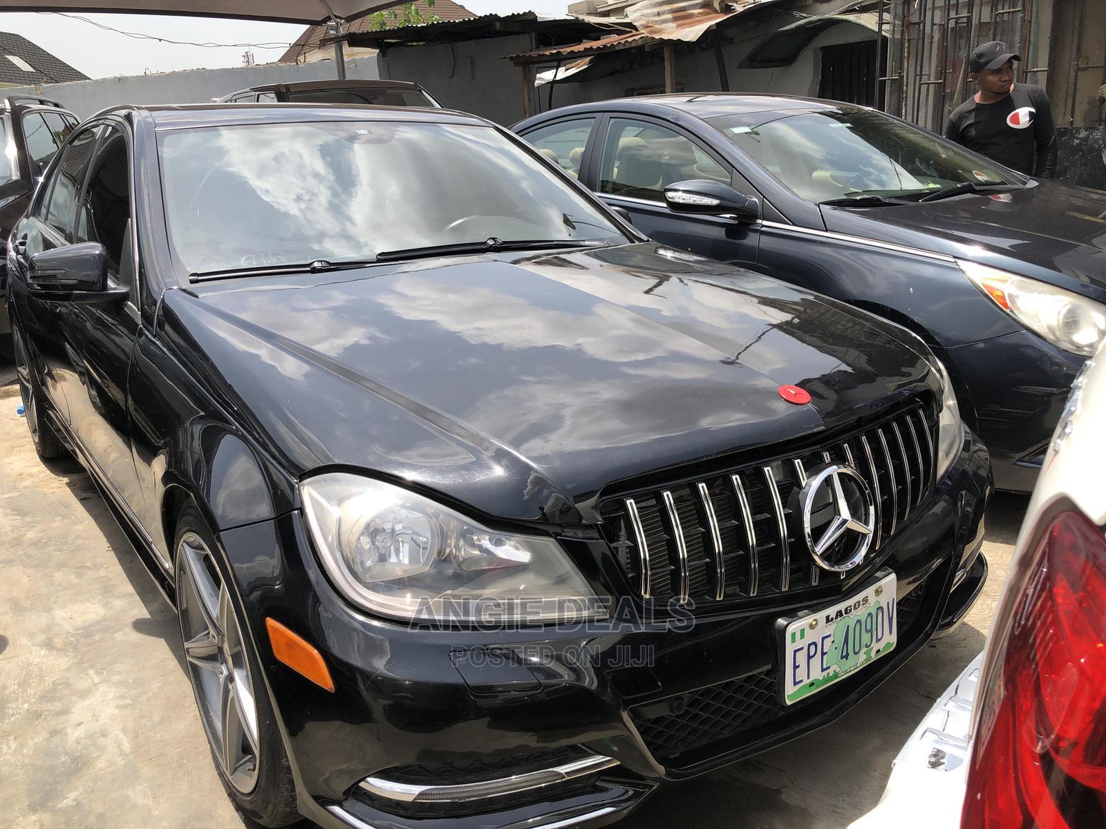 Archive: Mercedes-Benz C350 2014 Black