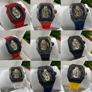 Richard Mille Rubber Strap Watch | Watches for sale in Oyo State, Ibadan