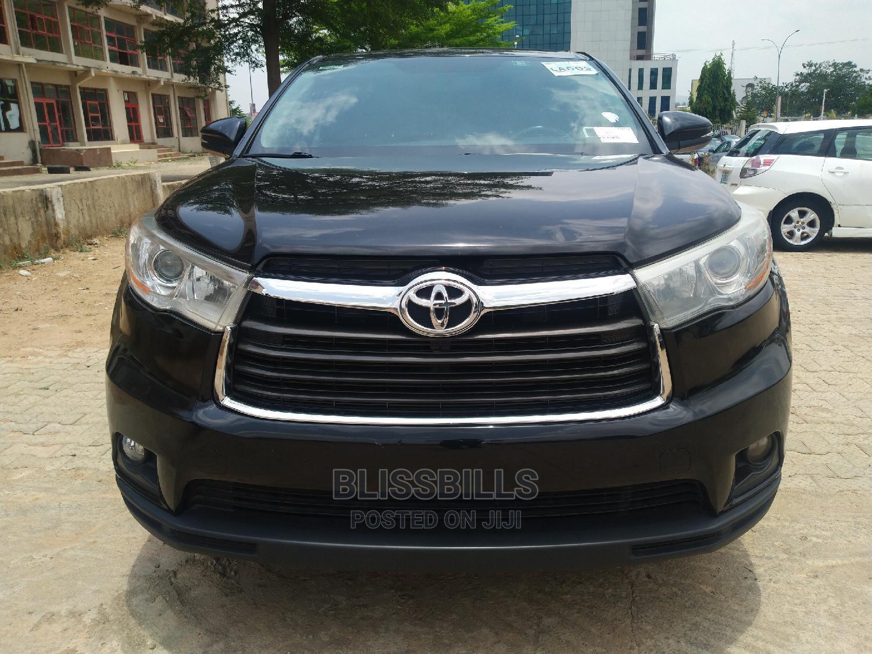 Toyota Highlander 2015 Black