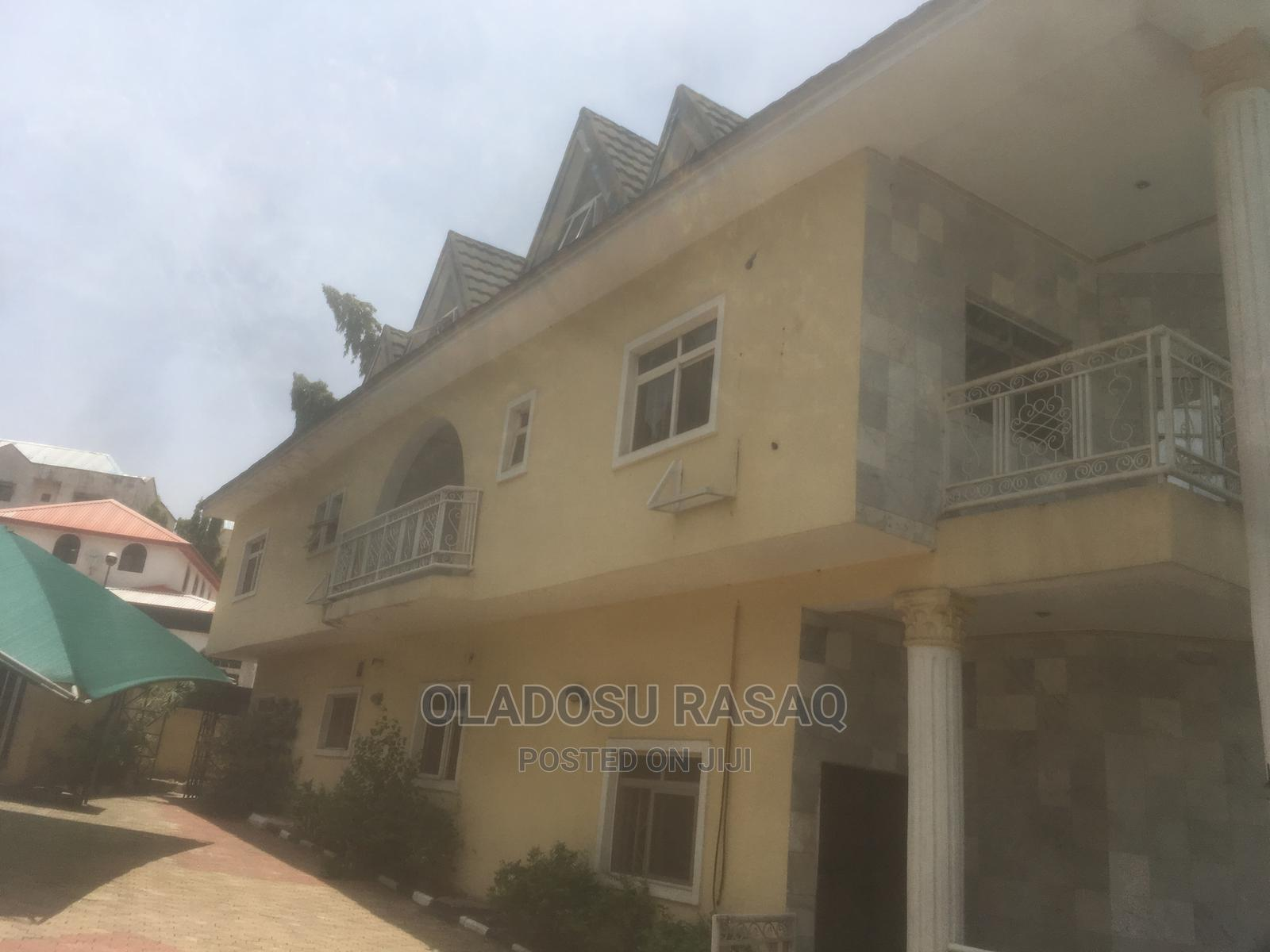 6 Bedroom Duplex With Paint House and BQ at Maitama for Sale