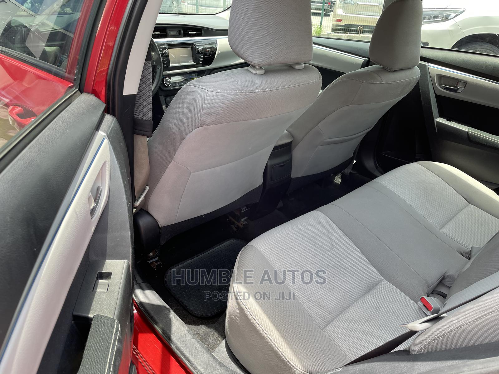 Toyota Corolla 2015 Red | Cars for sale in Lekki, Lagos State, Nigeria