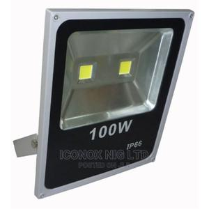 Waterroof Outdoor 100W LED Flood Light   Stage Lighting & Effects for sale in Lagos State, Ikeja