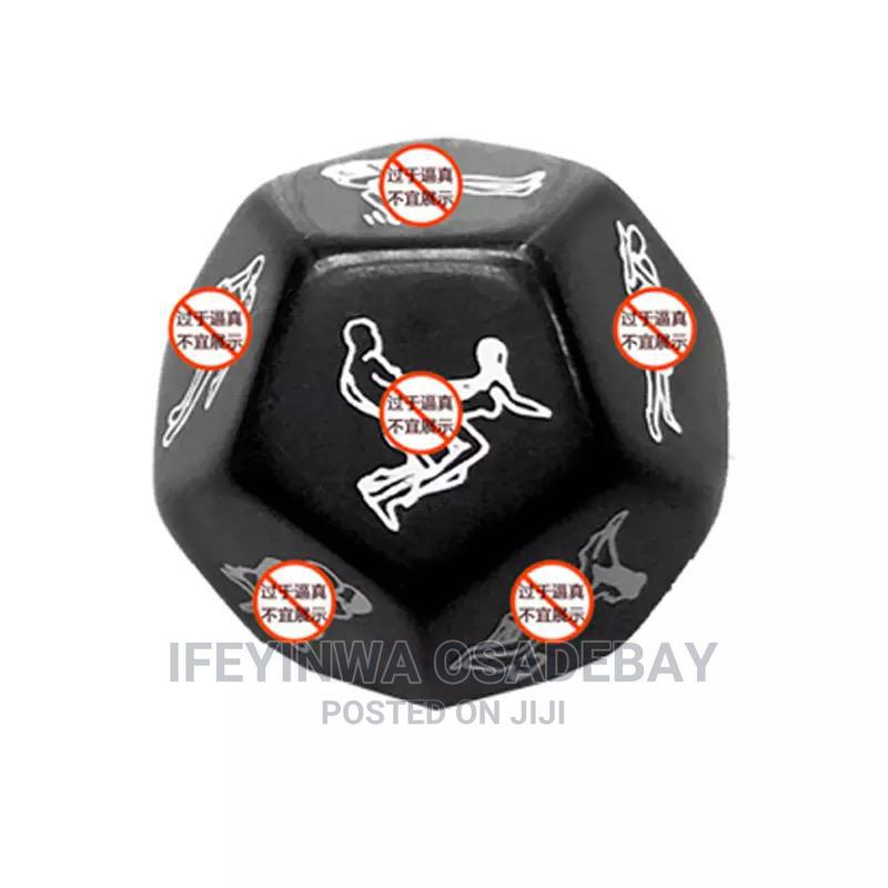 2 In 1 Sex Position Dice Set   Books & Games for sale in Kubwa, Abuja (FCT) State, Nigeria