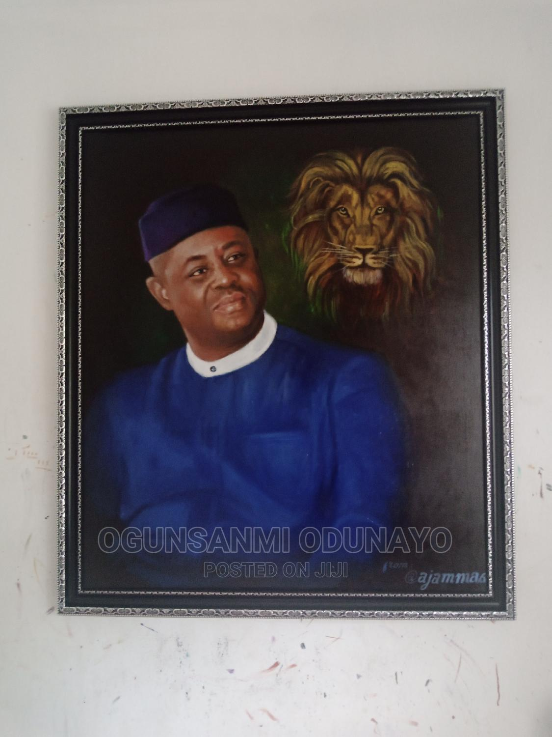 Oil on Canvass Painting | Arts & Crafts for sale in Shomolu, Lagos State, Nigeria