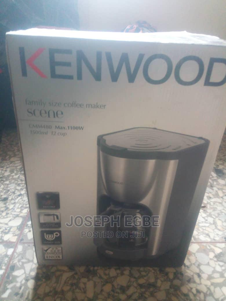 Archive: Kenwood Coffee Maker