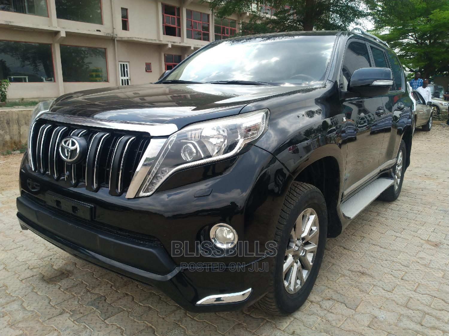 Toyota Land Cruiser Prado 2018 VXR Black | Cars for sale in Central Business Dis, Abuja (FCT) State, Nigeria