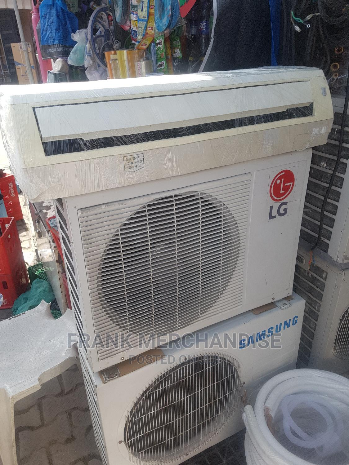 LG Air Conditioner 1.5HP Spilt Unit 100%Copper | Home Appliances for sale in Ojo, Lagos State, Nigeria