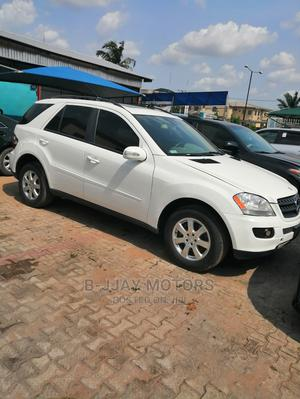 Mercedes-Benz M Class 2007 ML 350 4Matic White | Cars for sale in Lagos State, Ikeja