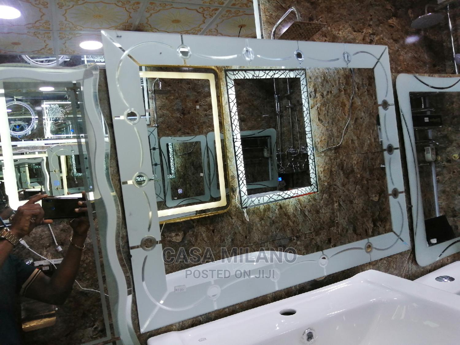 Bathroom and Room Mirrors