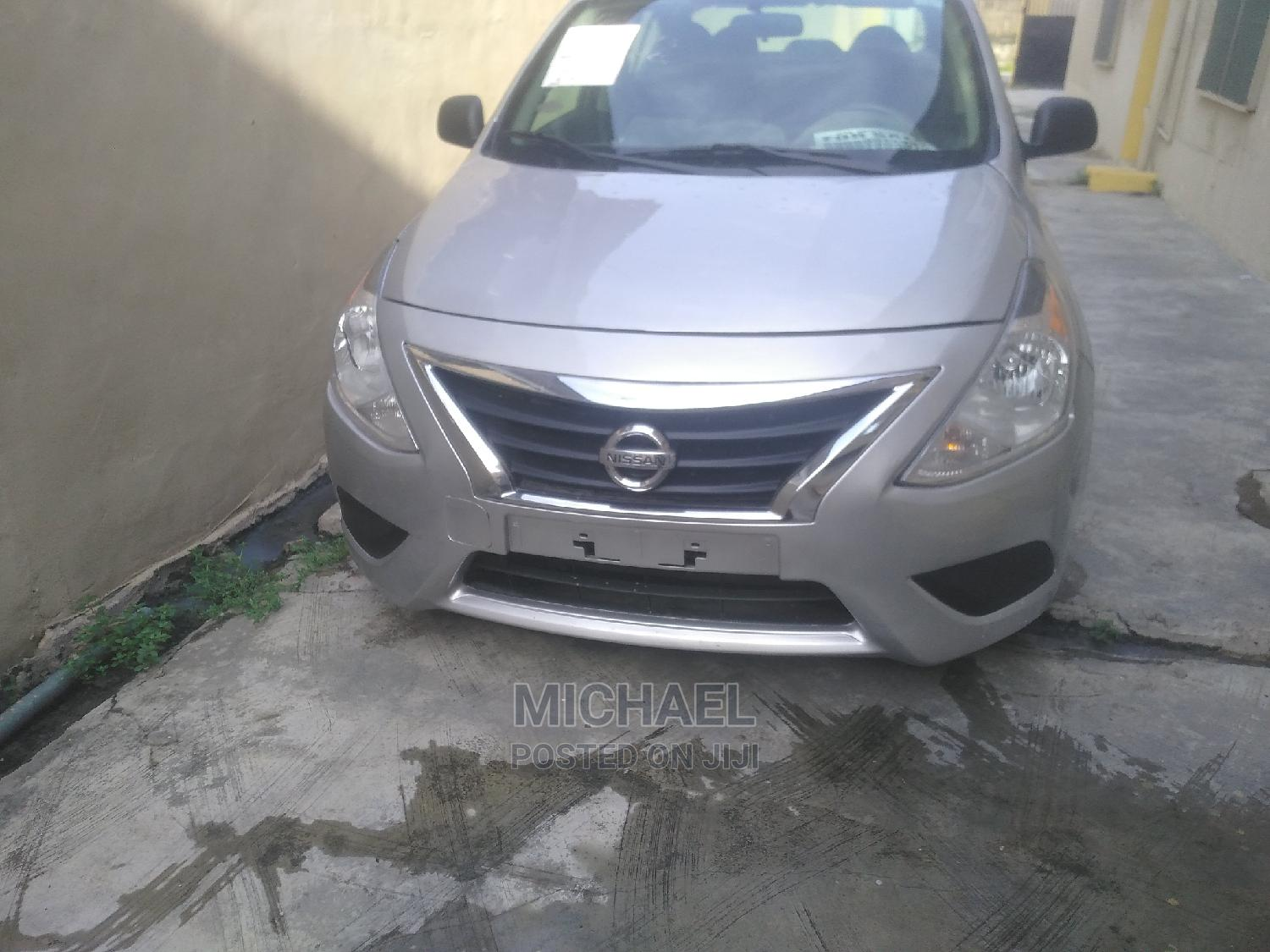 Nissan Versa 2015 Silver   Cars for sale in Surulere, Lagos State, Nigeria