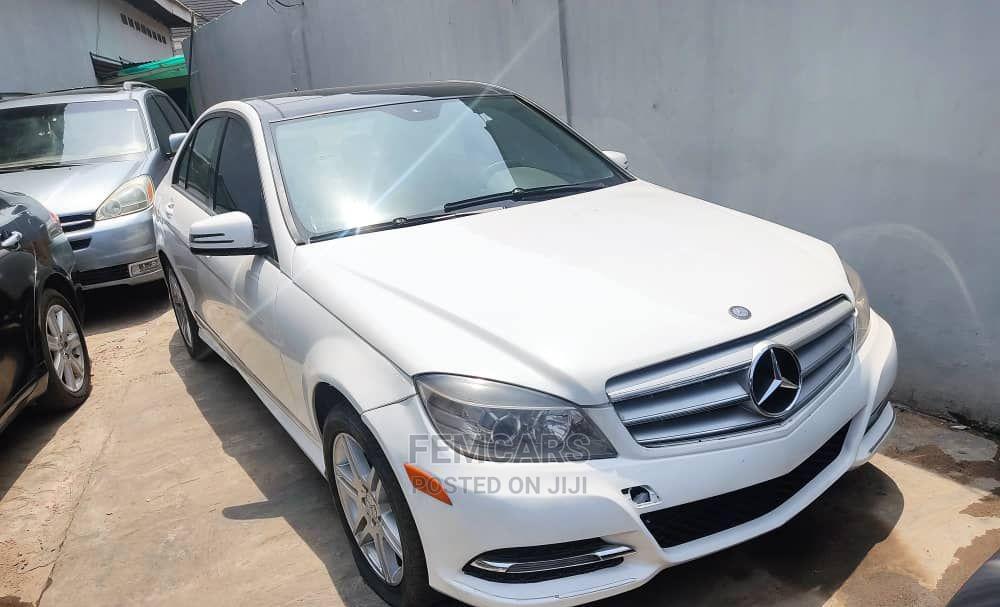 Mercedes-Benz C300 2008 White