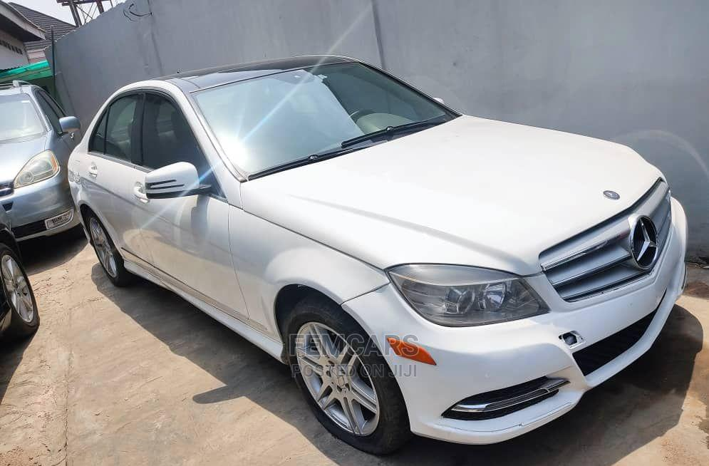 Mercedes-Benz C300 2008 White | Cars for sale in Ikeja, Lagos State, Nigeria