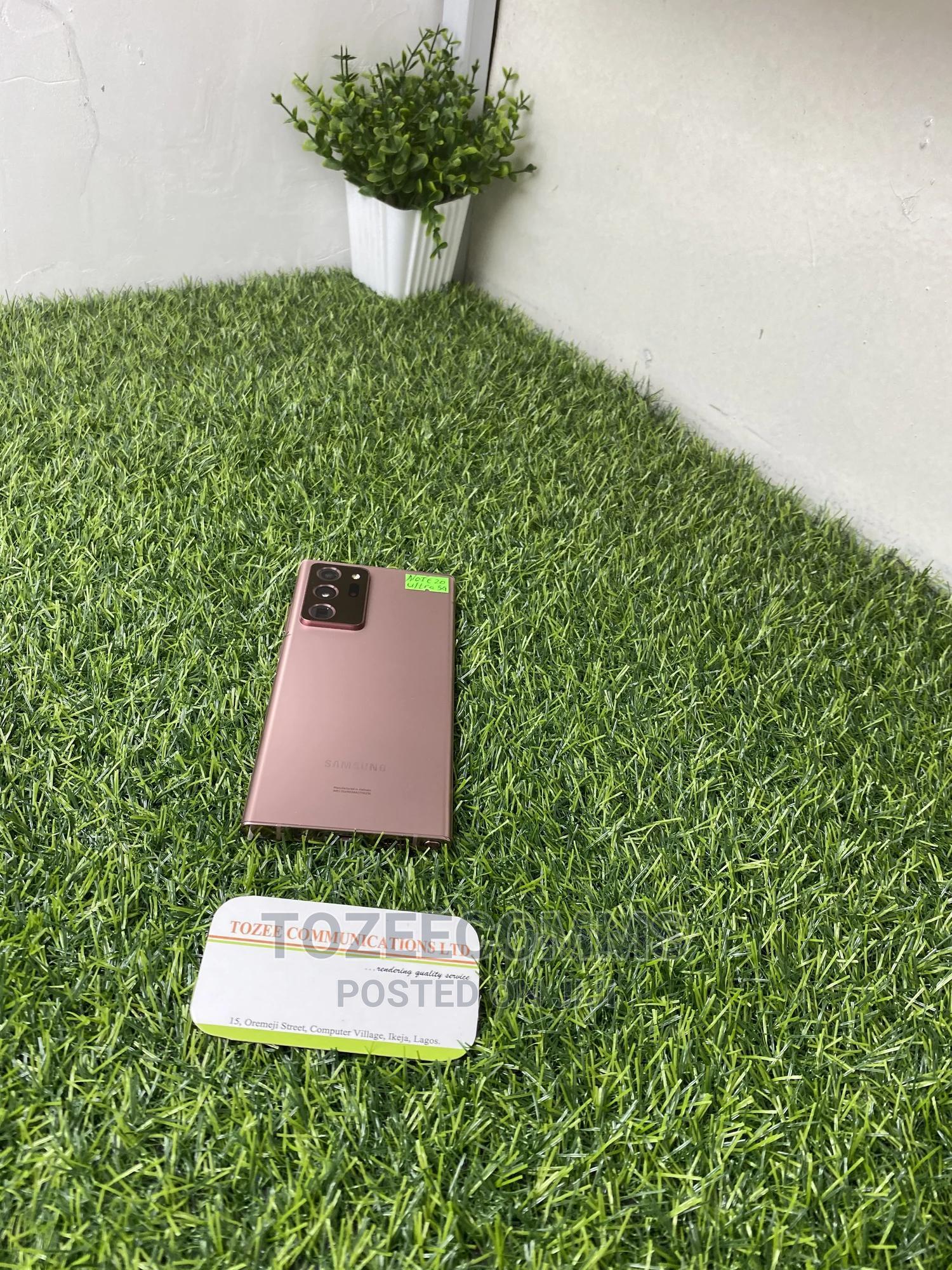 Samsung Galaxy Note 20 Ultra 5G 128GB Gold