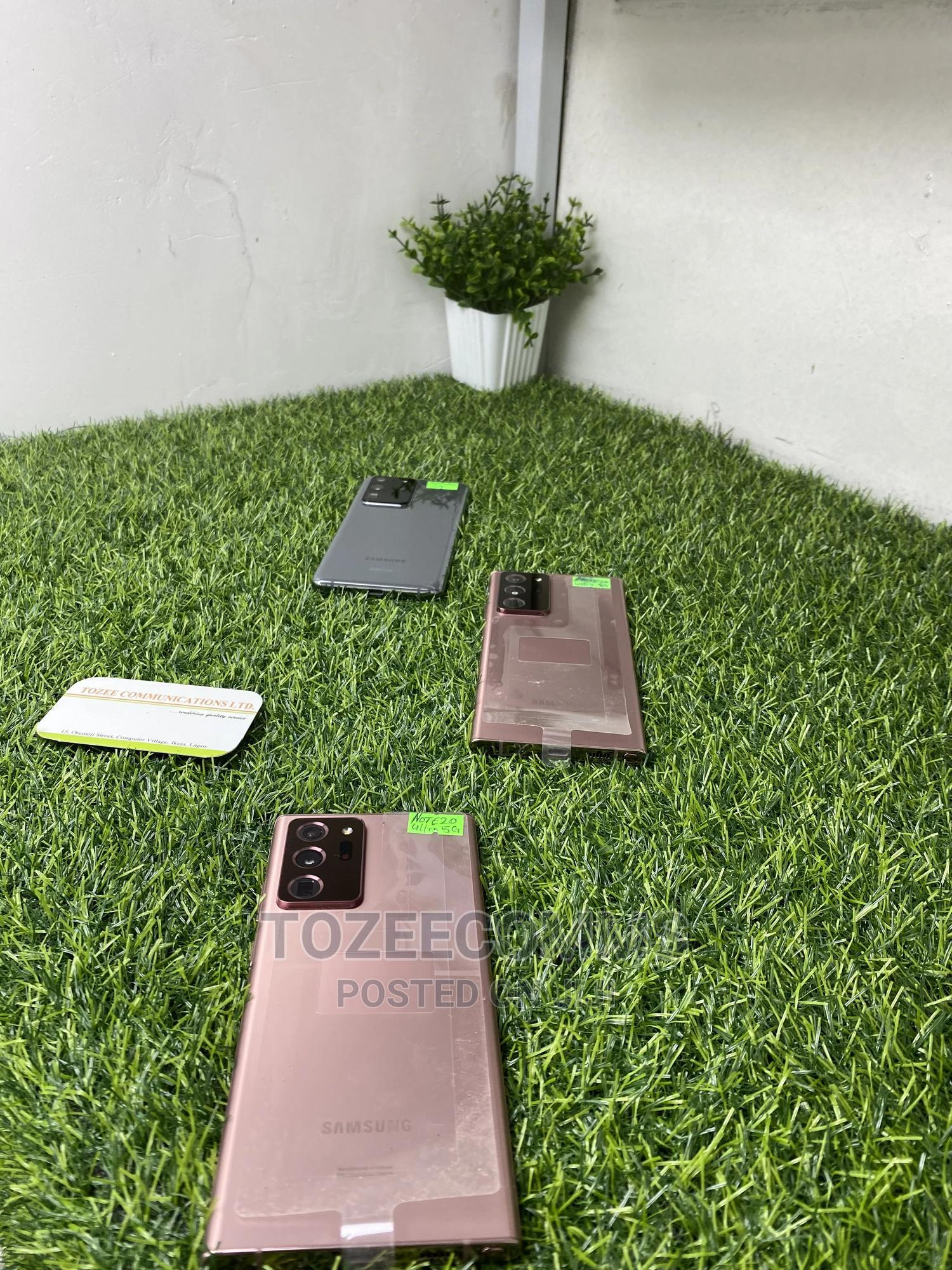 Samsung Galaxy Note 20 Ultra 5G 128GB Gold | Mobile Phones for sale in Ikeja, Lagos State, Nigeria