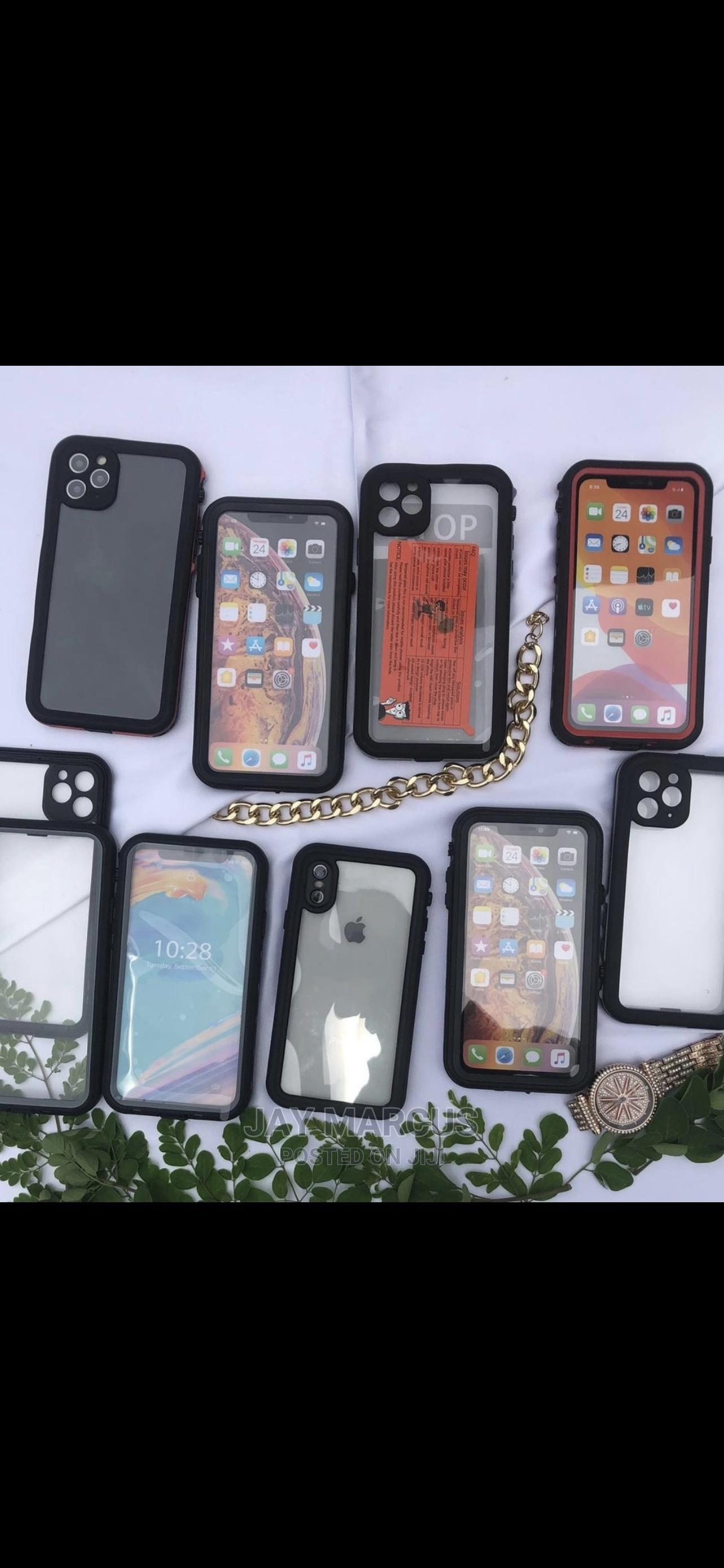 iPhone Water and Dust Resistant Case