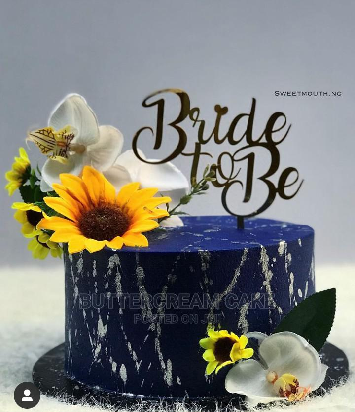 Bridal Shower Cake and Birthday Cakes (Sweet Month Designs)   Meals & Drinks for sale in Alimosho, Lagos State, Nigeria