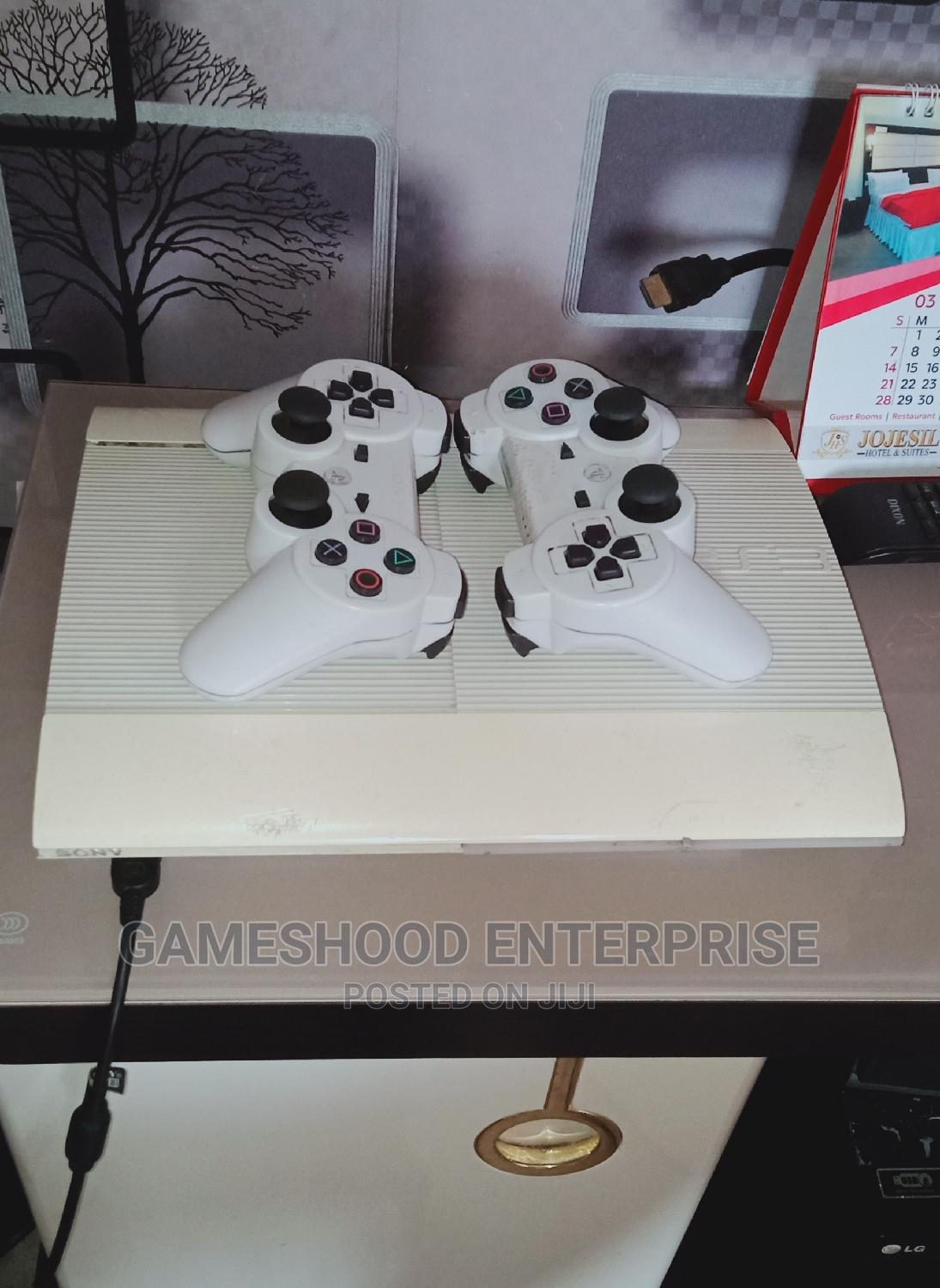 Hacked Ps3 Superslim Console +15games, a Pad Etc | Video Game Consoles for sale in Onitsha, Anambra State, Nigeria