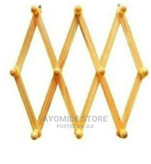 Collapsable Polished Wooden Wall Hanger | Home Accessories for sale in Lagos State, Lagos Island (Eko)