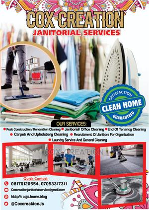 Janitorial Office Cleaning | Cleaning Services for sale in Lagos State, Victoria Island