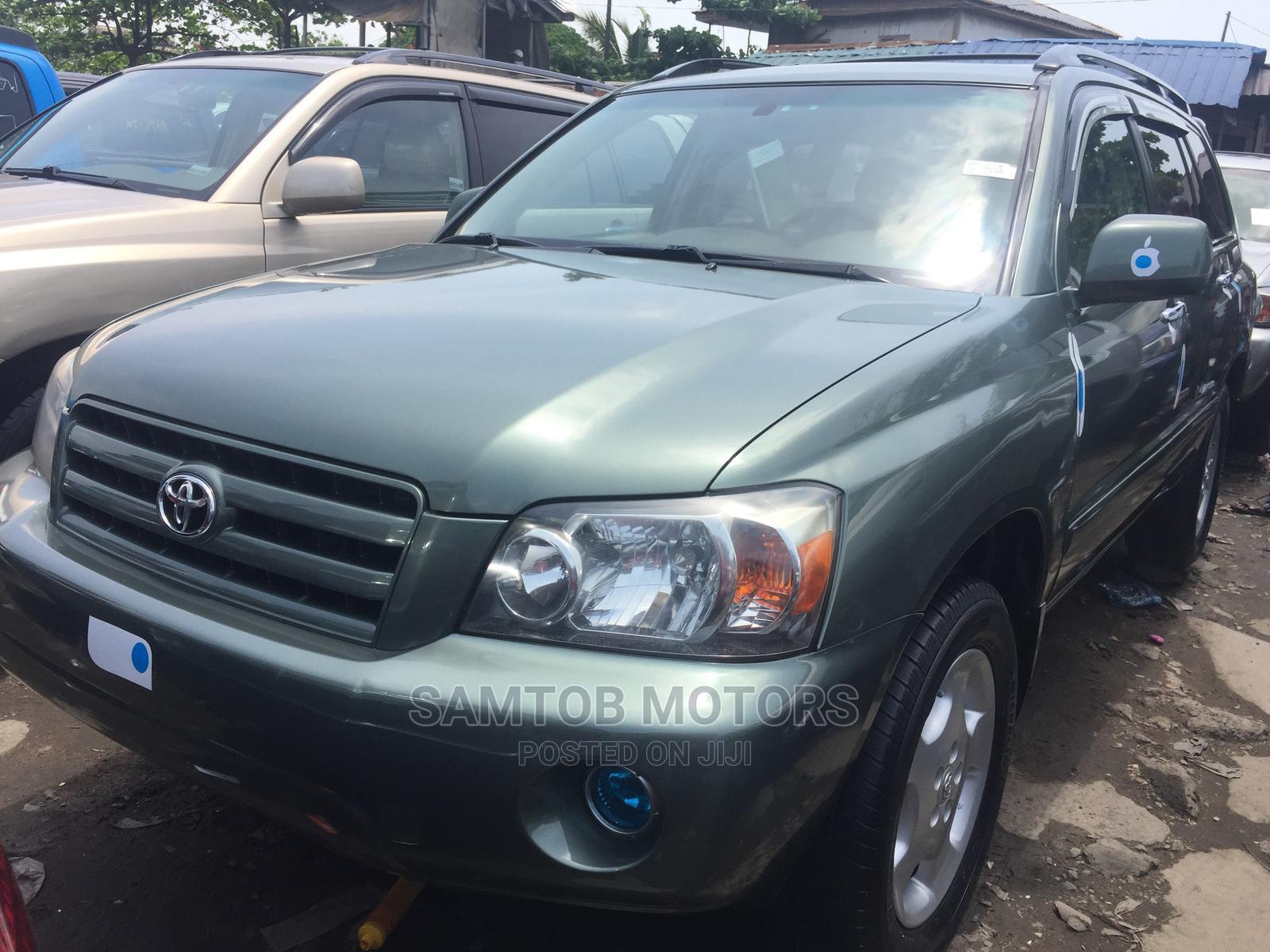 Toyota Highlander 2006 Green | Cars for sale in Apapa, Lagos State, Nigeria