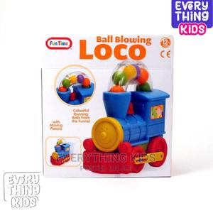 Funtime Push Along Ball Blowing Loco Toy | Toys for sale in Lagos State, Ikeja