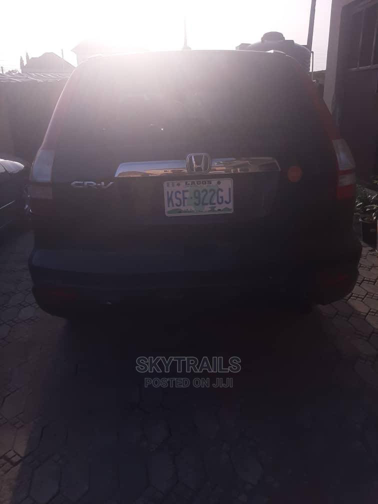 Honda CR-V 2008 2.4 EX Automatic Black   Cars for sale in Ibeju, Lagos State, Nigeria