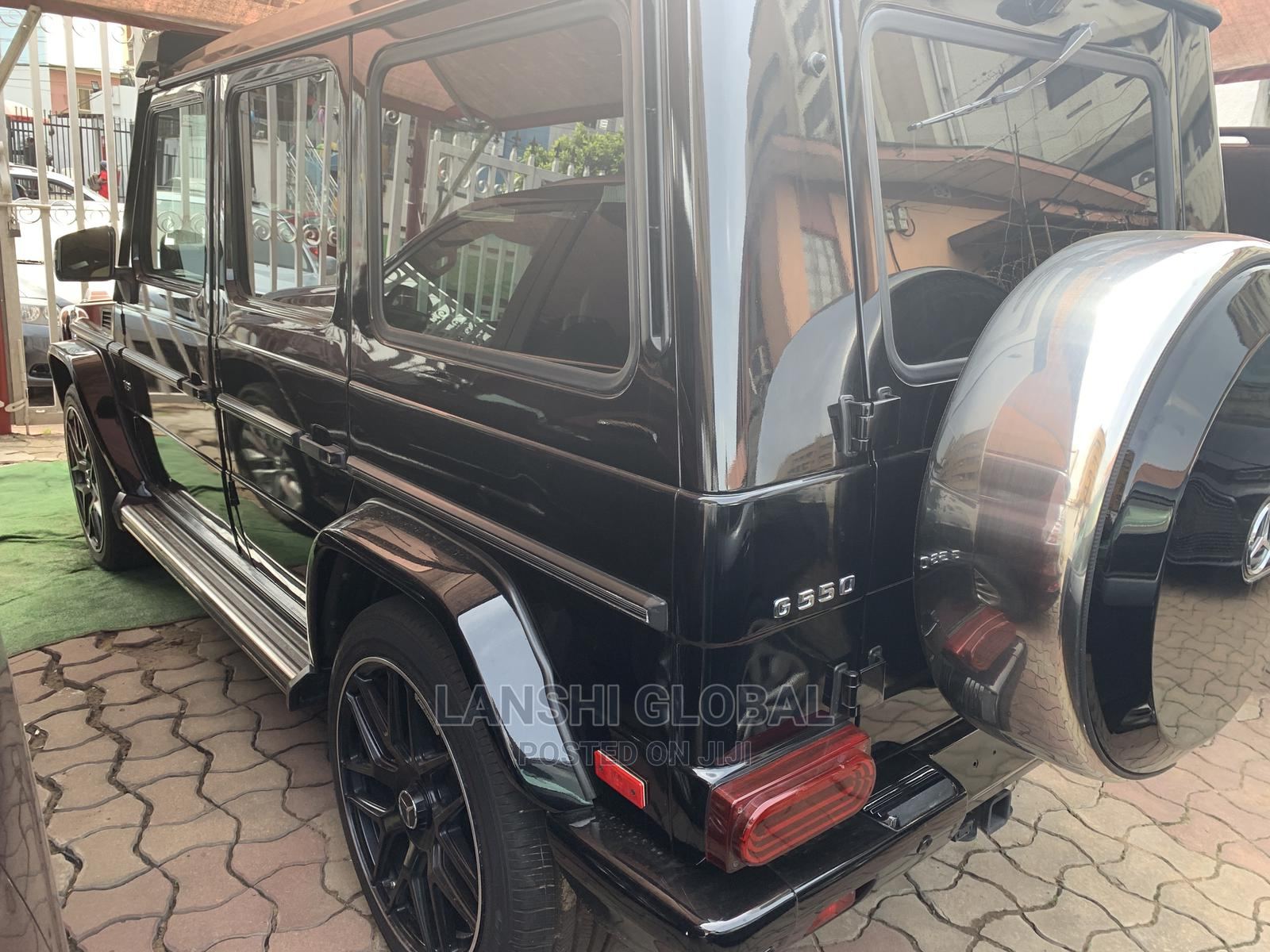 Mercedes-Benz G-Class 2016 Base G 550 AWD Black   Cars for sale in Ikeja, Lagos State, Nigeria