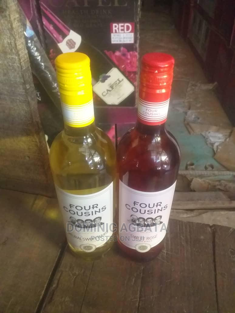 Four Cousins Sweet Wine